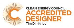 CEC Accredited Designer, Tim Dimitriou